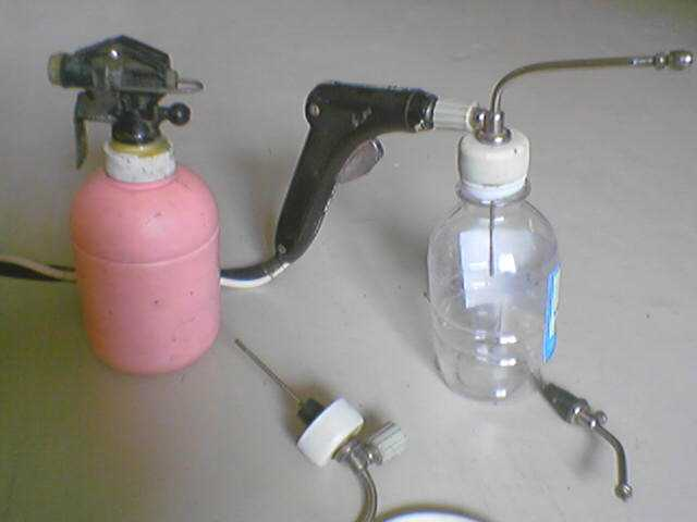 Распылитель на компрессор своими руками